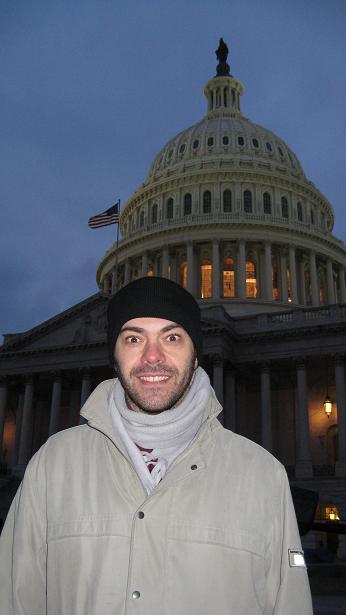 Helandome los huevos en el Capitolio