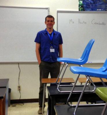 Mi clase en McQueen HS, Reno (EE. UU.)